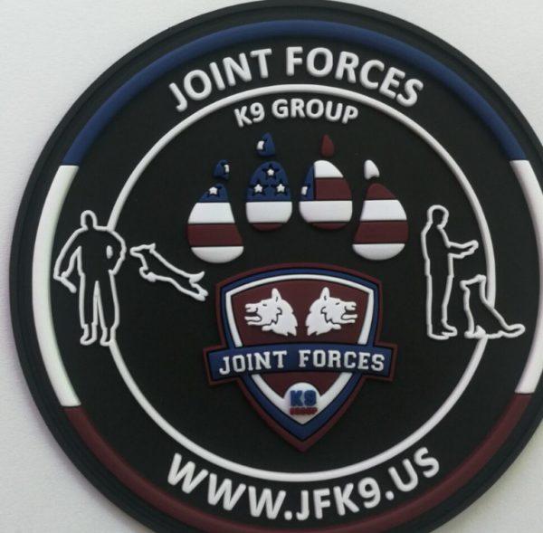 JFK9 Round Patch